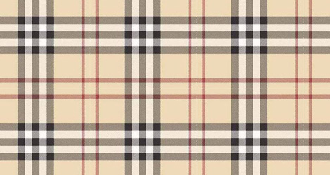 Burberry Check фэшн принт