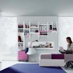 Интерьер комнаты для девочки-подростка