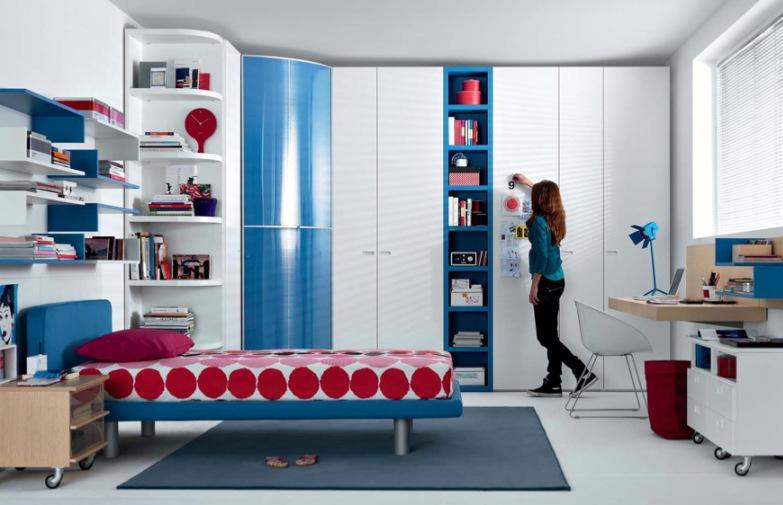 Чтобы успокоить бунтарский и взрывной характер большинства подростков, комнаты MisuraEmme выполнены в красочных...
