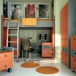 Дизайн-проект комнаты для подростка-мальчика