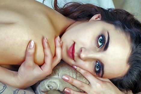 Нежная женская кожа