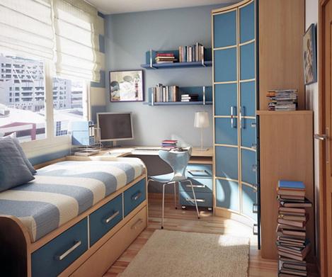 Интерьер комнаты для мальчика-подростка