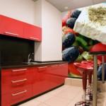 Фотообои на стену для кухни «Греческий салат»