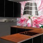 Фотообои на стену для кухни «Цветок»
