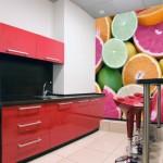 Фотообои на стену для кухни «Цитрусовые»