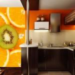 Фотообои на стену для кухни «Фрукты»