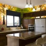 Фотообои на стену для кухни «Осень»