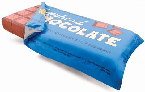 Постельное белье в виде шоколадки