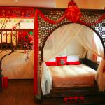 Интерьер восточной спальни