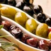 Виды оливок — сорта Каламата, Тассос, зеленые треснутые